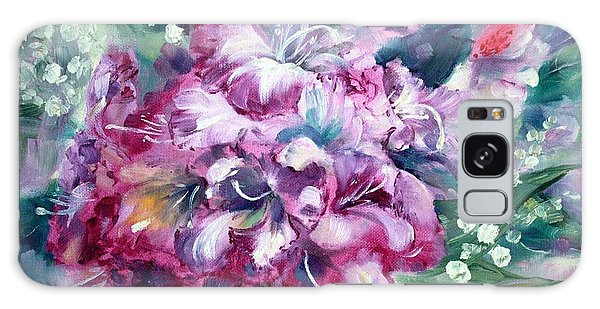 Rhododendron And Lily Of The Valley Galaxy Case