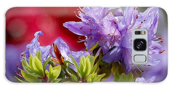 Rhododendron Bluebird Galaxy Case