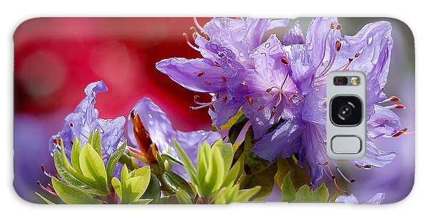 Rhododendron Bluebird Galaxy Case