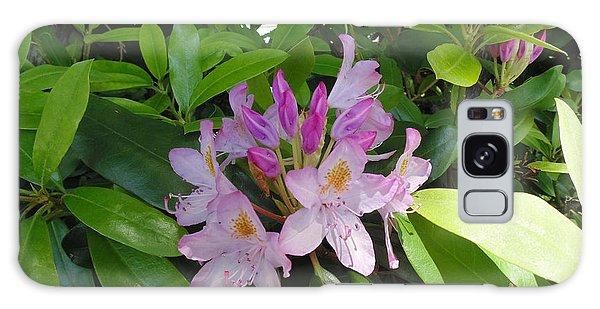 Rhododendron Galaxy Case by Daun Soden-Greene