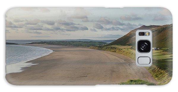 Rhossili Bay, South Wales Galaxy Case
