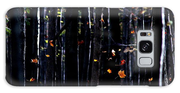 Rhythm Of Leaves Falling Galaxy Case
