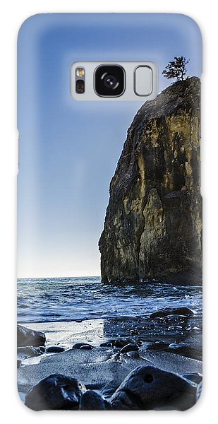 Sea Stacks Galaxy Case - Rialto Beach Sea Stack by Pelo Blanco Photo