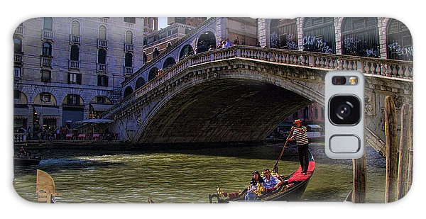Rialto Bridge In Venice Italy Galaxy Case