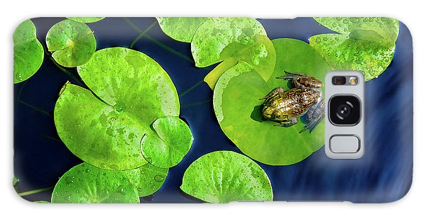 Ribbit Galaxy Case by Greg Fortier
