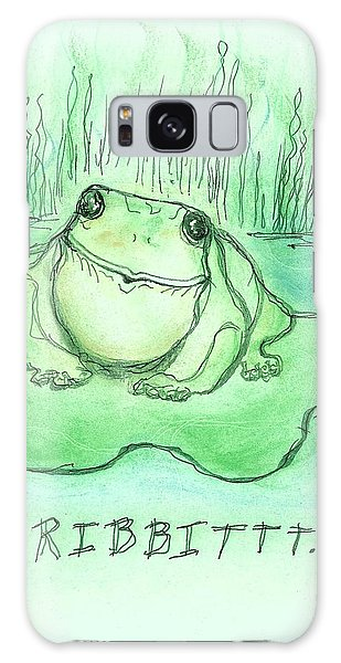 Ribbittt.... Galaxy Case by Denise Fulmer