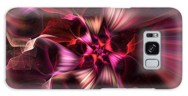 Ribbon Candy Rose Galaxy Case
