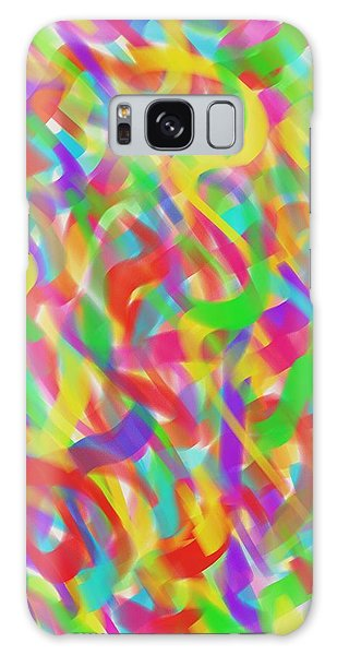 Ribbons Galaxy Case by Kevin Caudill