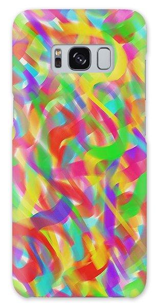 Ribbons Galaxy Case by Kevin Caudill