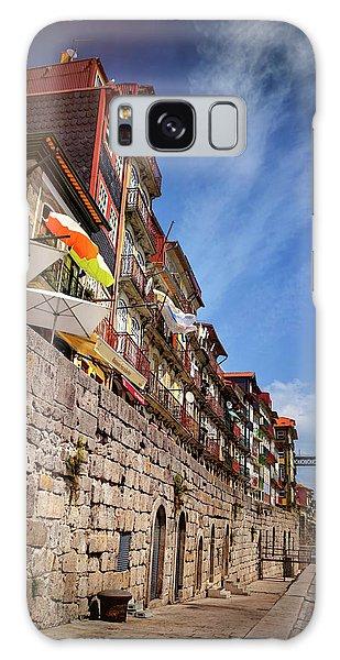 Ribeira District Of Porto Portugal  Galaxy Case