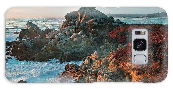Ribera Beach Sunset Carmel California Galaxy Case