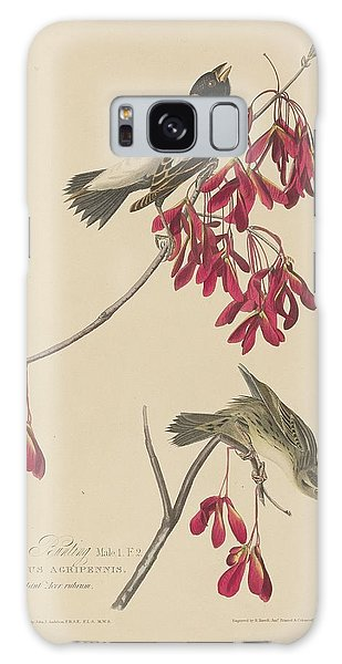 Rice Bunting Galaxy Case