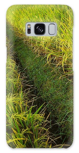 Rice Field Hiking Galaxy Case