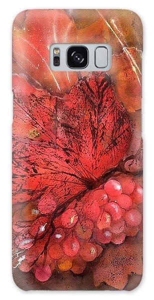 Rich Grape Harvest Galaxy Case