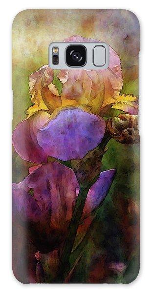 Rich Purple Irises 0056 Idp_22 Galaxy Case