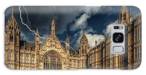 Houses Of Parliament Galaxy Case - Richard The Lionheart by Adrian Evans