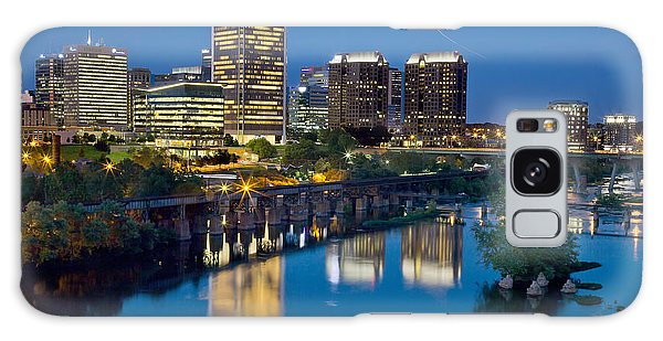 Richmond Skyline Helo Trail Galaxy Case