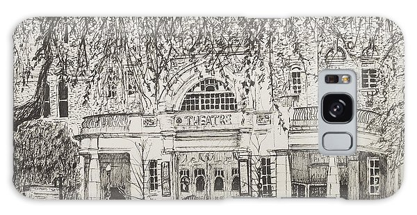 Pen And Ink Drawing Galaxy Case - Richmond Theatre London by Vincent Alexander Booth