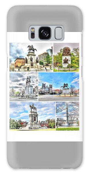 Us Civil War Galaxy Case - Richmond Va Virginia - Monuments Collage by Dave Lynch