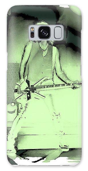 Rick Savage - Def Leppard Galaxy Case by David Patterson