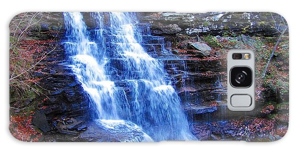 Ricketts Glen Waterfall 3941  Galaxy Case