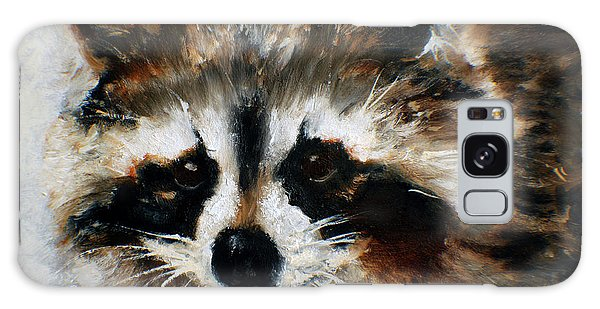 Rickey Raccoon Galaxy Case