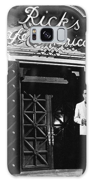 Ricks Cafe Americain Casablanca 1942 Galaxy Case by David Lee Guss
