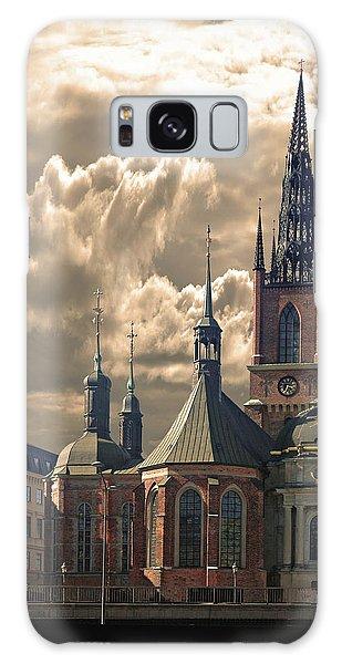 Riddarholm Church - Stockholm Galaxy Case by Jeff Burgess
