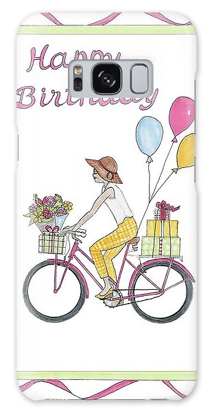 Ride In Style - Happy Birthday Galaxy Case