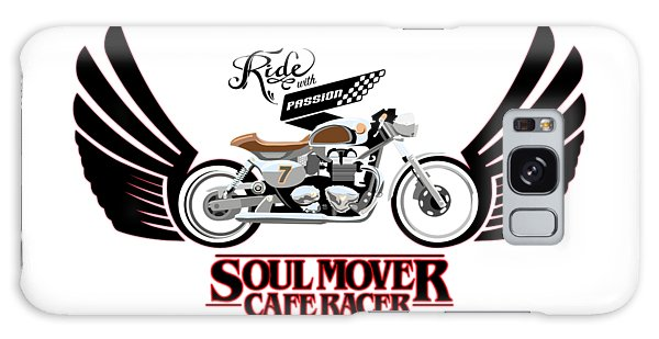 Soul Galaxy Case - Ride With Passion Cafe Racer by Sassan Filsoof