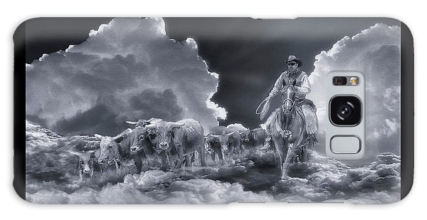 Riders In The Sky Bw Galaxy Case