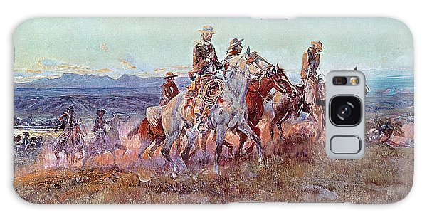 Hills Galaxy Case - Riders Of The Open Range by Charles Marion Russell