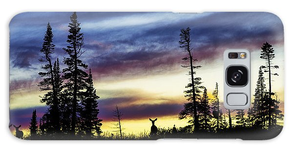 National Monument Galaxy Case - Ridge Sihouette by Chad Dutson