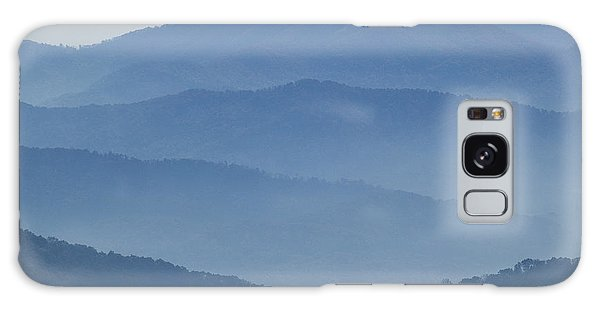 Ridgelines Great Smoky Mountains Galaxy Case