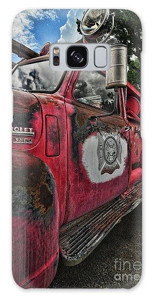 Ridgway Fire Truck Galaxy Case