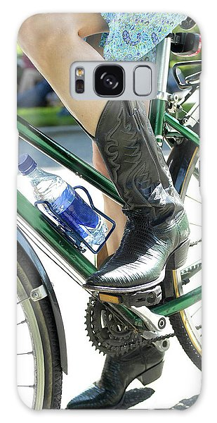 Galaxy Case featuring the photograph Riding In Style by Frank DiMarco