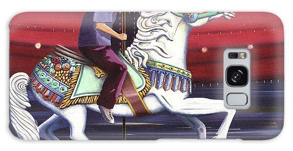 Riding The Carousel Galaxy Case