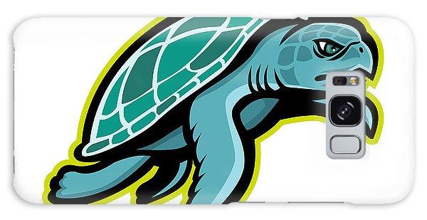 Turtle Galaxy Case - Ridley Sea Turtle Mascot by Aloysius Patrimonio
