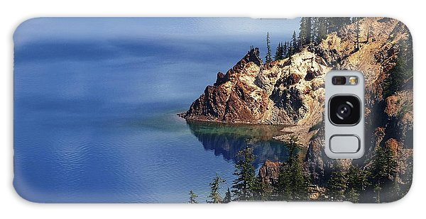 Right Side Of Crater Lake Oregon Galaxy Case