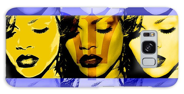 Rihanna Warhol Barbados By Gbs Galaxy Case