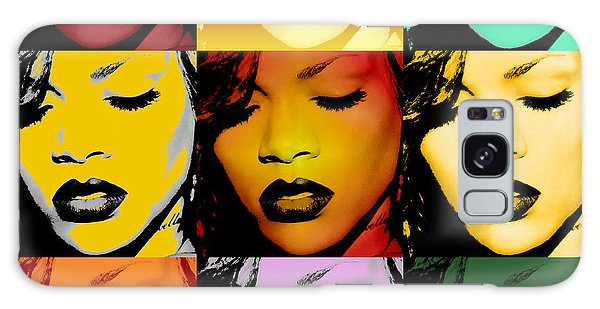 Rihanna Warhol By Gbs Galaxy S8 Case