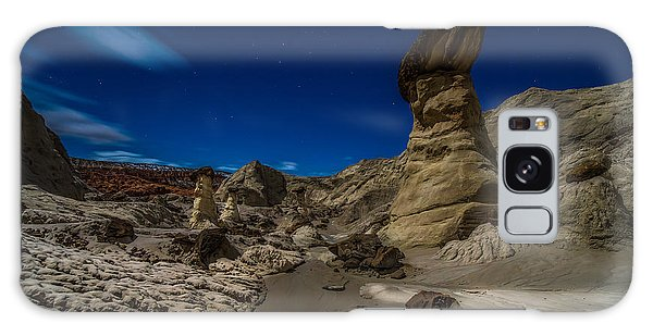 Long Exposure Galaxy Case - Rim Rock Toadstools Grand Staircase National Monument  by Larry Marshall