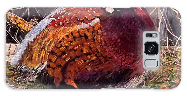 Ring Neck Pheasant Galaxy Case