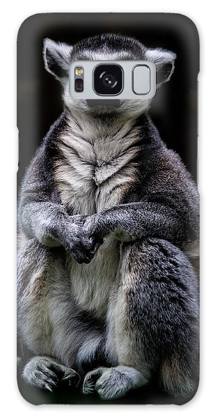 Galaxy Case featuring the photograph Ring Tailed Lemur by Chris Lord