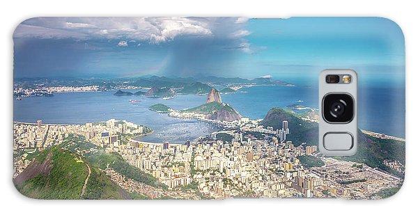 Rio De Janeiro Galaxy Case by Andrew Matwijec