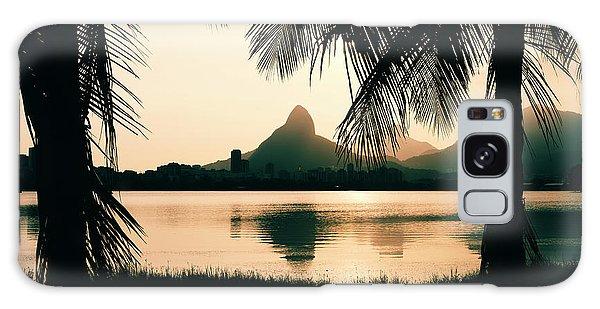 Rio De Janeiro, Brazil Landscape Galaxy Case