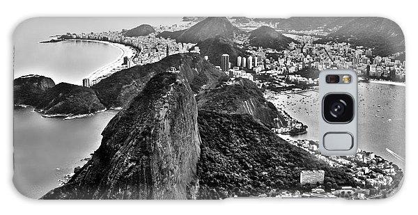 Rio De Janeiro - Sugar Loaf, Corcovado And Baia De Guanabara Galaxy Case