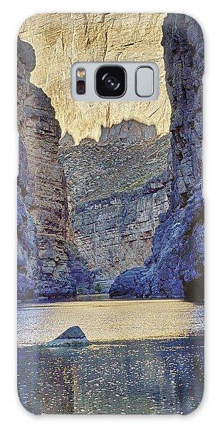 Rio Grand, Santa Elena Canyon Texas 2 Galaxy Case