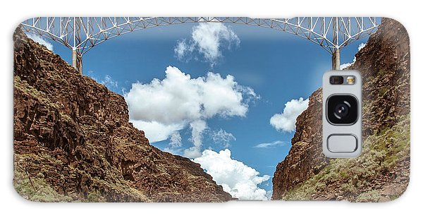 Rio Grande Gorge Bridge Galaxy Case by Britt Runyon