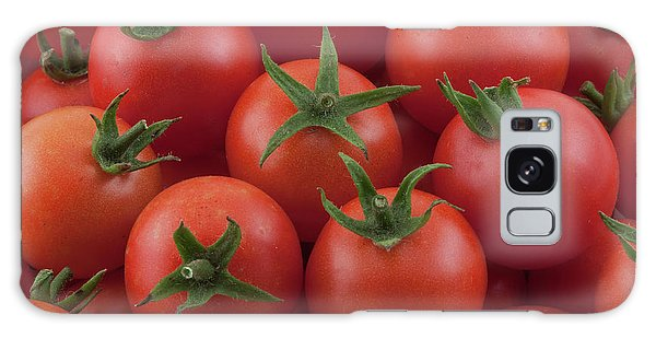 Galaxy Case featuring the photograph Ripe Garden Cherry Tomatoes by James BO Insogna